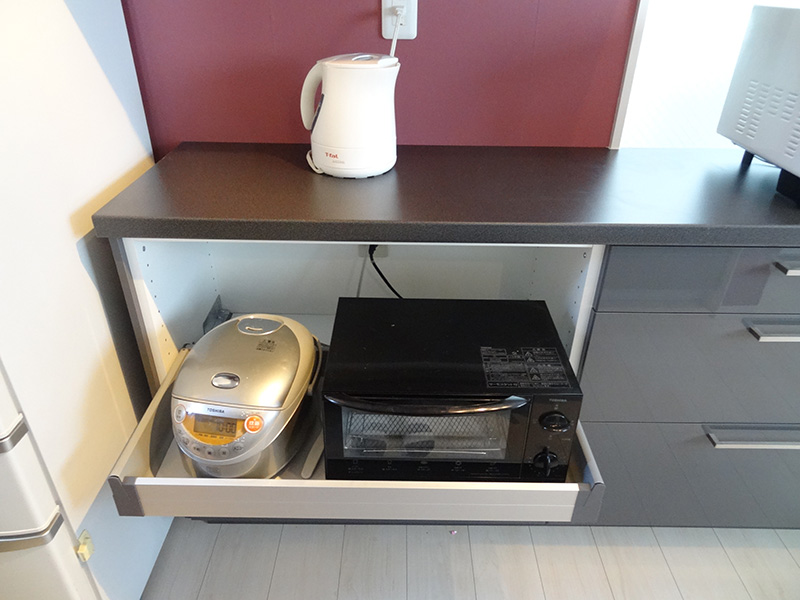 IKEA カウンター施工完了