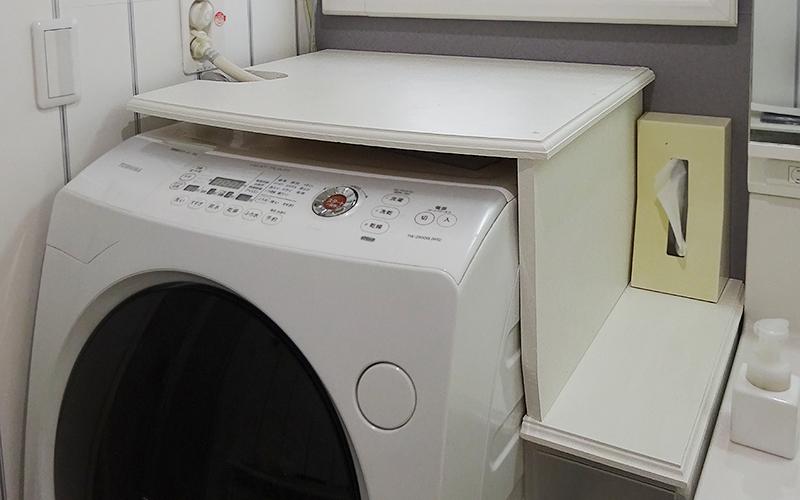 洗濯機カバー完成