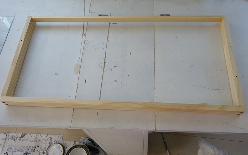 木枠をDIY