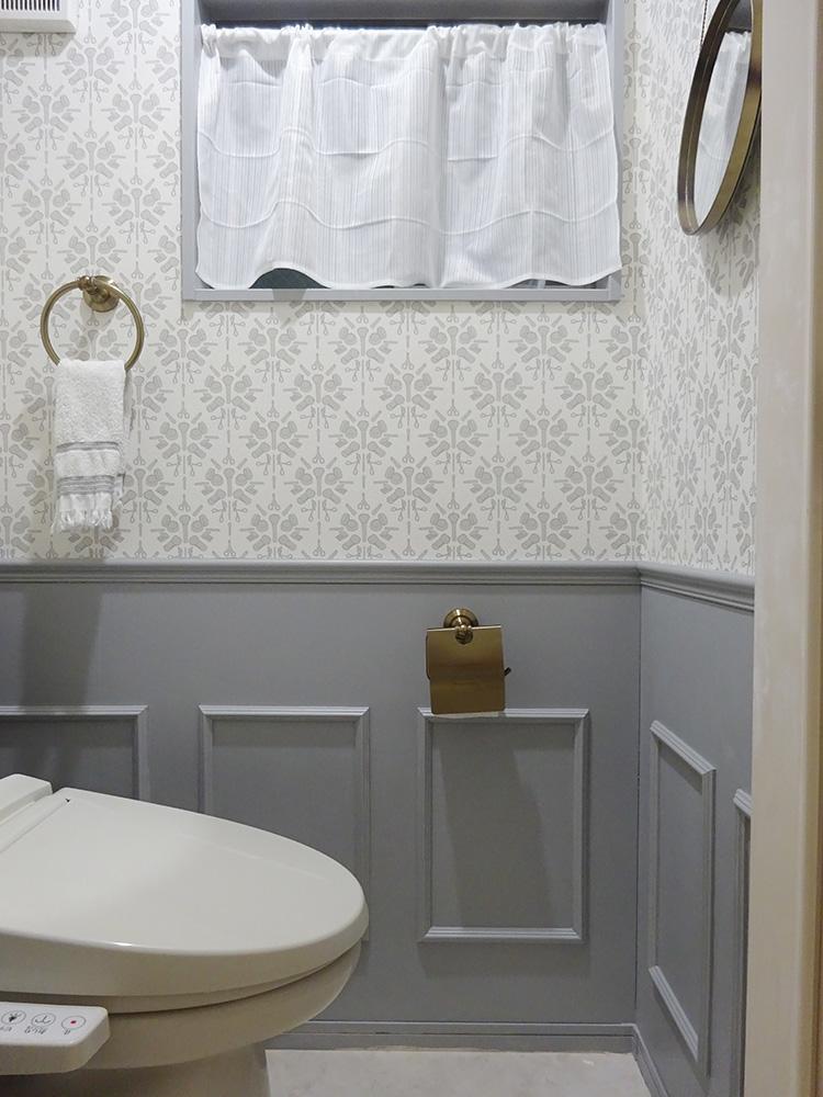 トイレ腰壁DIY