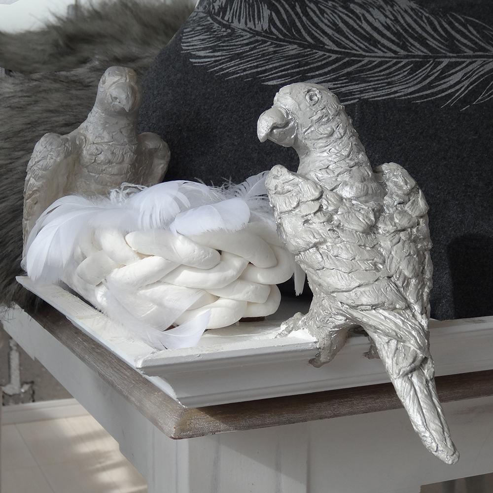 鳥オブジェ 紙粘土手作り