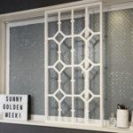 アイアンフェンス風窓枠DIY