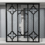 ブラックアイアンフェンス風 窓枠DIY